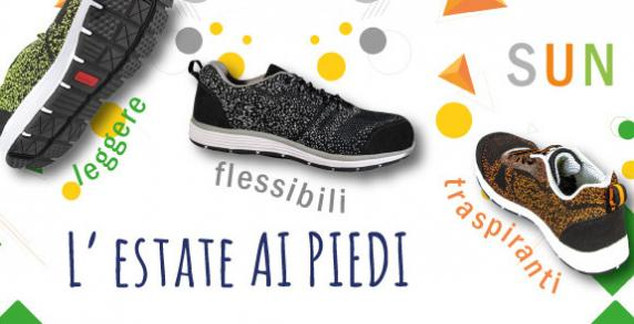 Comodità e benessere per i tuoi piedi... SUN... le scarpe traspiranti!